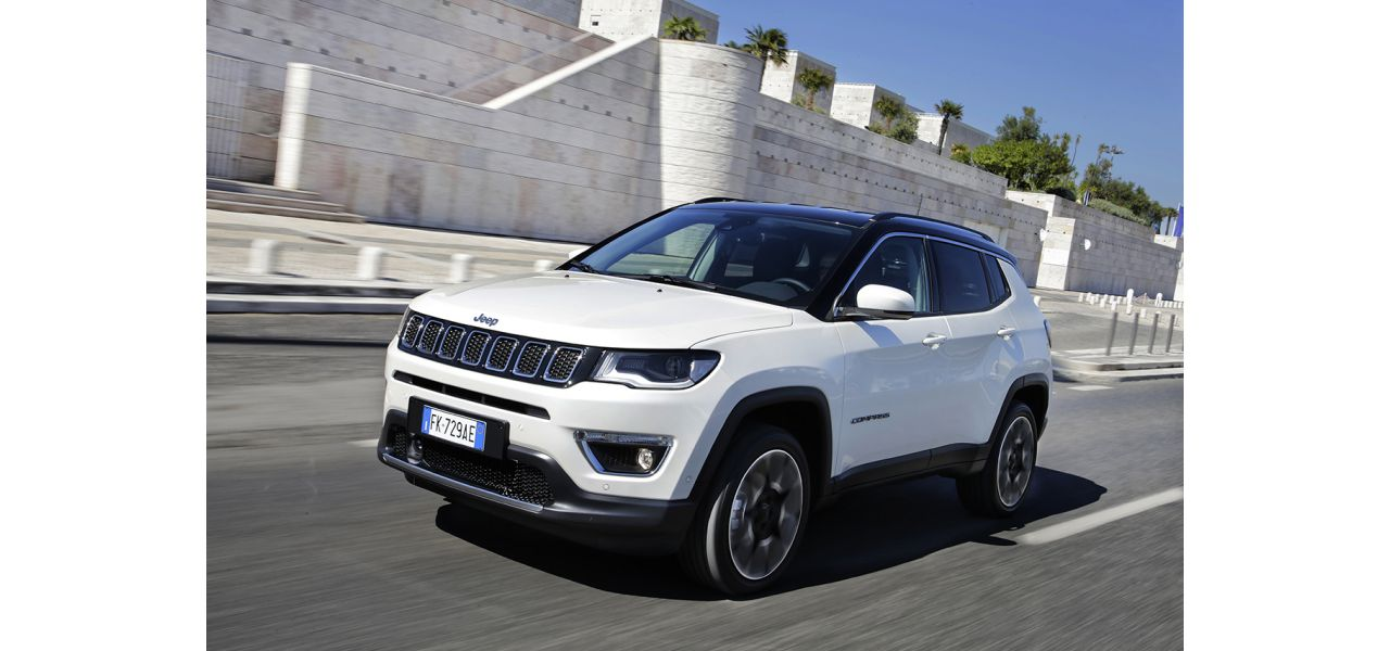 Jeep Compass colore Bright White